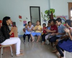 SAPUWA SUPPORTED KHAI TRI'S OPENING HELP DEVELOPING MAINSTREAMING EDUCATION CENTER