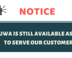 SAPUWA IS STILL AVAILABLE  AS USUAL TO SERVE OUR CUSTOMERS