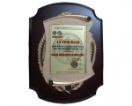 """SAPUWA's General Director received award """"Excellent and compassionate businessman year of 2013"""""""