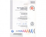 SAPUWA PROUDLY RECIEVES CERTIFICATE ISO 22000/ HACCP