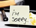 Cách xin lỗi từng bước