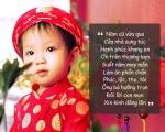 Dạy trẻ học nói những câu chúc tết dễ thương và ý nghĩa