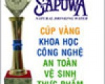 """Sapuwa achieved golden cup of """"Technology - Science and Safe - Sanitary food"""""""