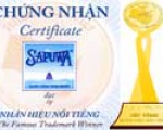 """Sapuwa has received gold medal and title of """"The famous trademark"""""""