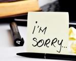 Làm sao để xin lỗi được chấp nhận?