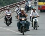 Những điều lưu ý khi lưu thông xe máy trên đường dịp Tết