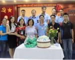 Liên hoan mừng sinh nhật CB-CNV có ngày sinh trong tháng 5