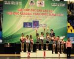 SAPUWA ĐỒNG HÀNH CÙNG GIẢI THỂ DỤC AEROBIC CÚP CÁC CLB TOÀN QUỐC NĂM 2017