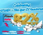 FLASH SALE UP TO 82% -  CELEBRATING SAPUWA'S 28th YEAR OF ANNIVERSARY